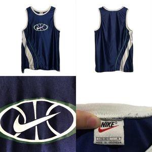 Vintage 1990s Nike Tank Top Shirt Men's Size Small
